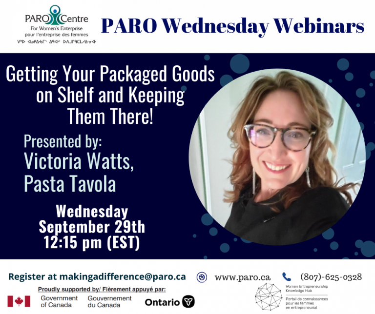 PARO WEDNESDAY – PACKAGING GOODS ON SHELF AND KEEPING THEM THERE